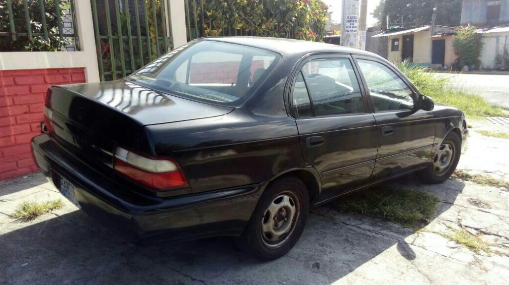 se vende toyota corrolla 96 carros en venta san salvador el salvador. Black Bedroom Furniture Sets. Home Design Ideas