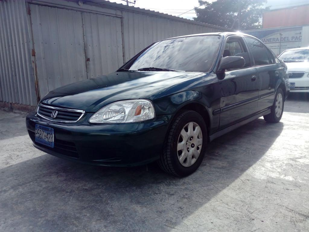 Vendo Honda Civic 2000 4 100 Neg 77074086 Carros En